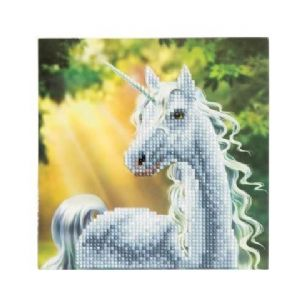 Sunshine Unicorn Crystal Art Card Kit